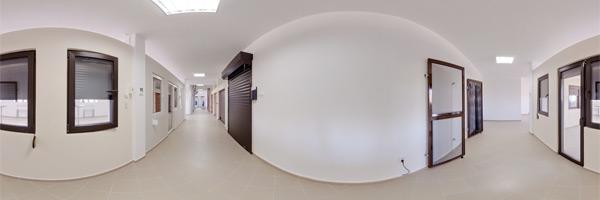 Tur virtual zonă de usa tip rulou si TermoStoruri aplicate Outbox, vedere din interior